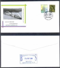 Brasília -  Rep. Dominicana -  INTEREXPO 2005 - RARO - PONTE JK - FAROL COLON