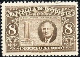Honduras -1946- MINT - Presidente USA F.D.Roosevelt - Coluna Quebrada