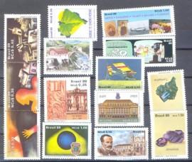 Brasil - 1989 -MINT- 14 Vls.