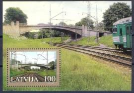 Lituânia - 2005 - MINT -  Ferrovia.