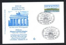 Alemanha- 1998- Porta de Brandemburgo - CBC Berlim