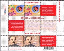 Países Baixos- 2006 - MINT - Vila Sésamo- Fale seu Idioma - Max Havelaar, Romanciscta  anticolonial.