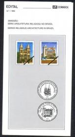 Brasil-1992-1-Arquitetura Religiosa