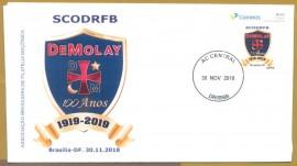 Brasil - 100 Anos  da Ordem DeMolay- Imagem P