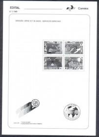Brasil - Edital nº 3 1989- Serviços Especiais