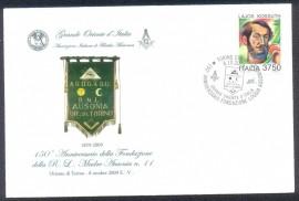 Italia- Loggia Madre Ausonia- 150 anniversario dela Fundazione