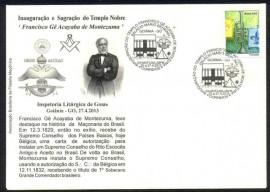Brasil- Inauguração do Templo Franciso Gê Acayaba de Montezuma