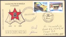 Brasília -Personalizado- COLÉGIO MILITAR DE BRASÍLIA, 30 ANOS - CBC Brasília - 29.8.2008