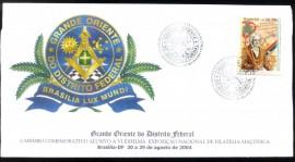Brasil- Grande Oriente do Distrito Federal - CBC Brasília-DF Obs. Na realidade, teria que constar uma referência ao novo distintivo do GODF.