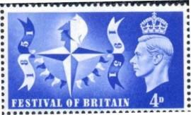 Grâ Bretanha- 1951 - MINT