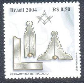 Brasil - Homenagem a Maçonaria - Símbolos