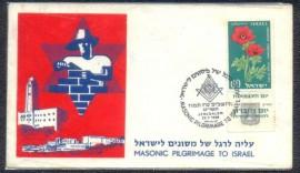 Israel -1959 -  CBC: Jerusalém -  Perigrinação Maçônica para Israel