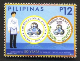 Filipinas - 2017- 100 Anos da Loja Cosmos - MINT