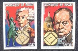 República da Guiné -  Churchill e Mozart