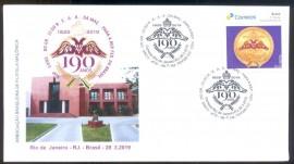 Brasil - 190 Anos do Supremo Conselho do REAA - CBC- RIO DE JANEIRO-RJ
