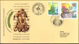 BRASIL- 2012- CBC- BRASÍLIA-DF - 100 ANOS DE LUIZ GONZAGA- MAÇOM