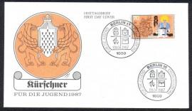 Alemanha -CBC 1987 - Berlim - Guildas- Corporações de Ofício.