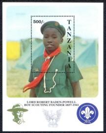 Tanzânia -1992-MINT - Escotismo.