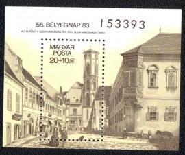 Hungria - 1983 MINT - -Primeira rua de Budapeste.