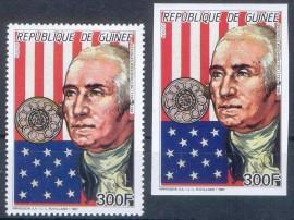 Guinea -1987-  G. Washington - Perf + Imp - MINT