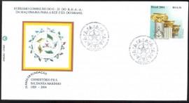 Brasil - 2004- 75 Anos do Consistório  Saldanha Marinho-S.P. - cbc-São Paulo-SP