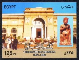 Egito - 2002-MINT-Centenário do Museu Egípcio.