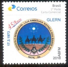 Brasil - 2018- 45 Anos da Loja Estrela dos Magos Nº2- MINT