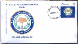 Brasil - Homenagem a Loja Maçônica Acácia Potiguara Nº38