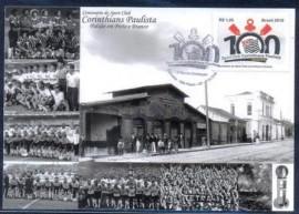 Brasil-2010-MINT- Centenário do Corinthians Paulista