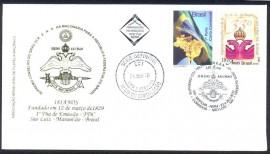 Cachet em Hot Stamps