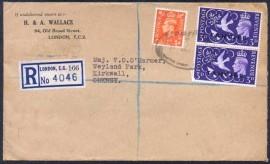 Grã-Bretanha - 1952 - Tangier  Overprint - Selo Rei Jorge VI