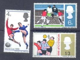 Grãn Bretanha -1966 - MINT -  Copa do Mundo - 1966
