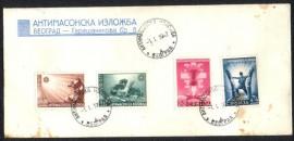 Sérvia -1942- Ocupação -Alemanha -  Comemorativo a Exposição Anti-Maçônica,   CBC: 1.1.1942-Belgrado