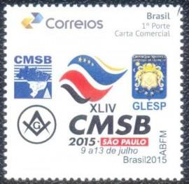 Brasil - XLIV AGO - CMSB - SAO PAULO 2015