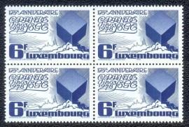 Luxembourg - 1978- Quadra MINT - 175º Aniversário da Grande Loja