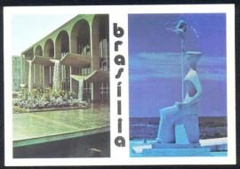 Brasília - Palácio da Justiça - Estátua da Justiça - Não Circulado