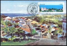 1985-MINT-Ouro Preto - Patrimônio Mundial da Humanidade.