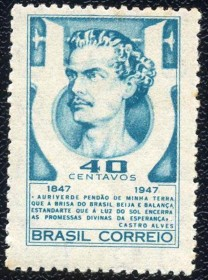Brasil-MINT - Castro Alves