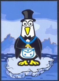 Alemanha -MINT - Caricatura Maçônica - Pinguim - Alemanha
