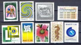 Brasil - 1977 -MINT-  9 Val.