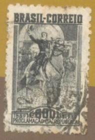 Brasil - 1939 -  Deodoro da Fonseca - Usado.