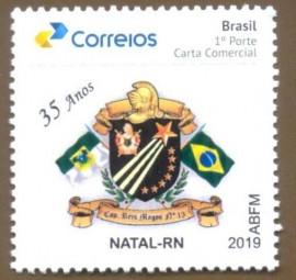 Brasil - 2019-MINT- 35 Anos do Cap. Reis Magos Nº 15 - Natal-RN