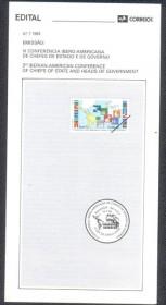 Brasil-1993-7 - III Conferência Ibero-Americana