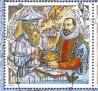 Esquadro e Compasso no 1ª selo.