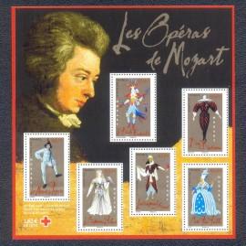 França-2006-MINT- Óperas de Mozart - em primeiro plano