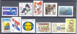 Brasil- 1980 -MINT- 11 Vals.