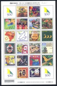 2000-MINT-Série 500 Anos do Descobrimento do Brasil