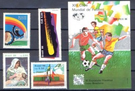 Brasil - 1986 -MINT- 5 Val.