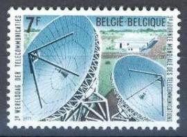 Bélgica -1971 -MINT- Antenas - Telecomunicação