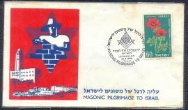 Israel - 1959 - Peregrinação  Maçônica a Jerusalém - CBC Jerusalém